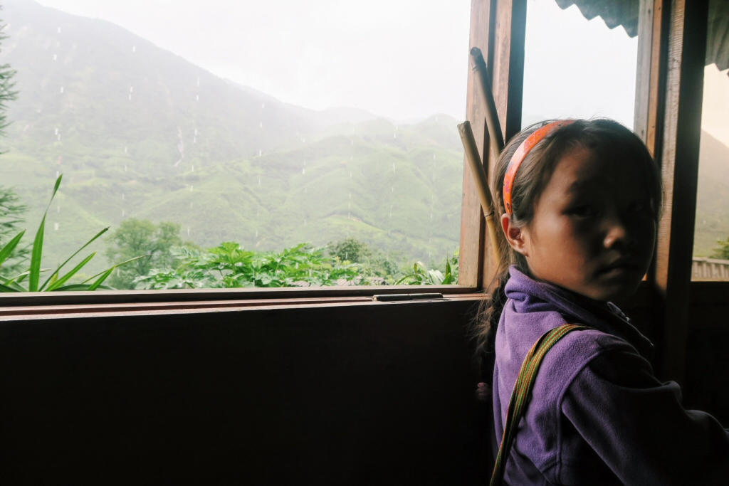 Sapa trek, unexpected children