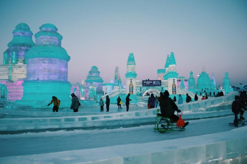 Harbin Ice and Snow World, China Ice City