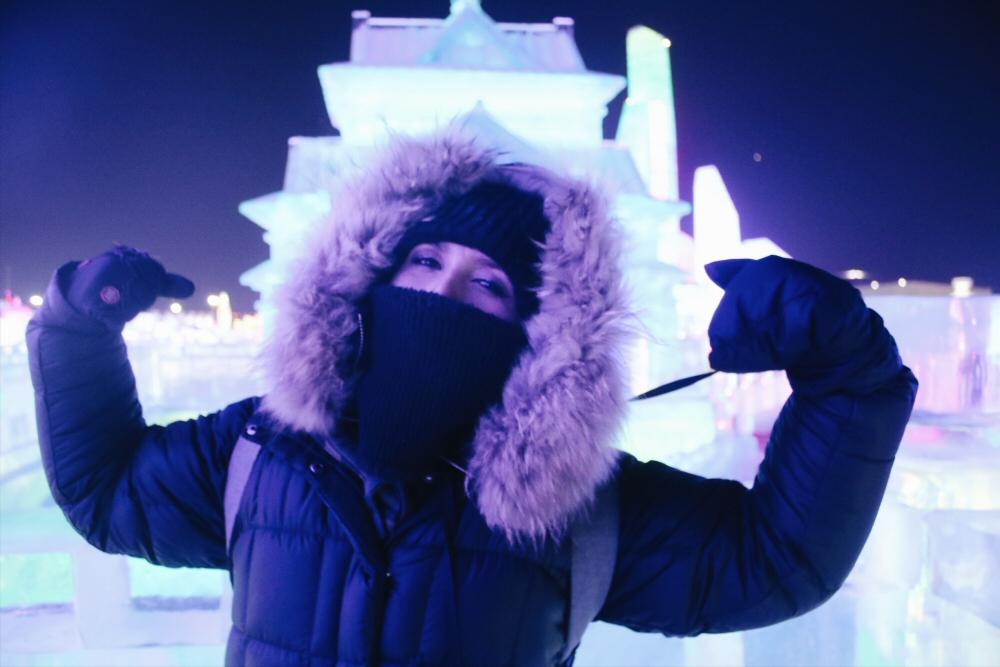 Winter Travel Packing List, Balaclava in Harbin
