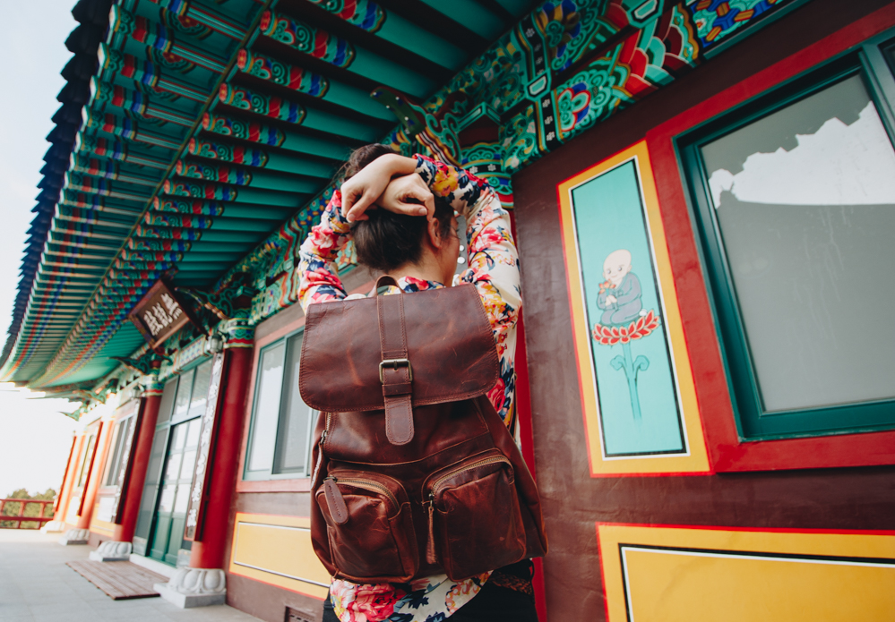 Vintage Leather Backpack to Travel in Style