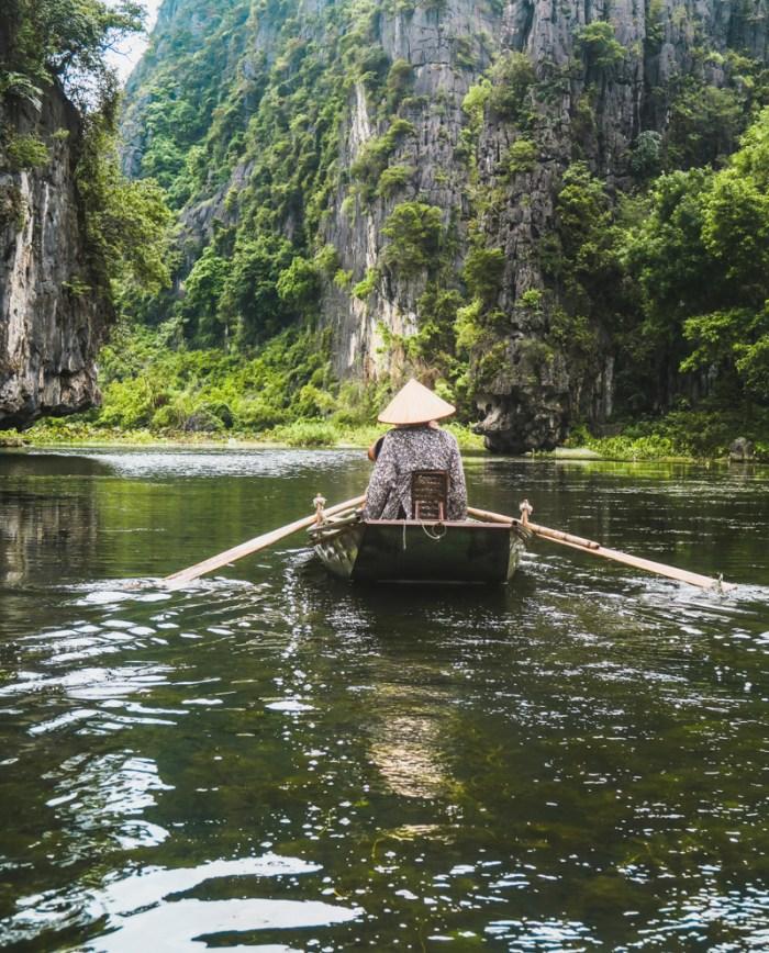 Tam Coc Vietnam River