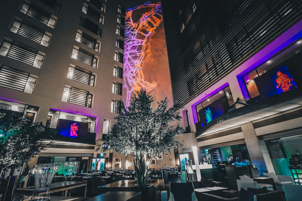 Art Concept of Park Hotel Tokyo in Japan