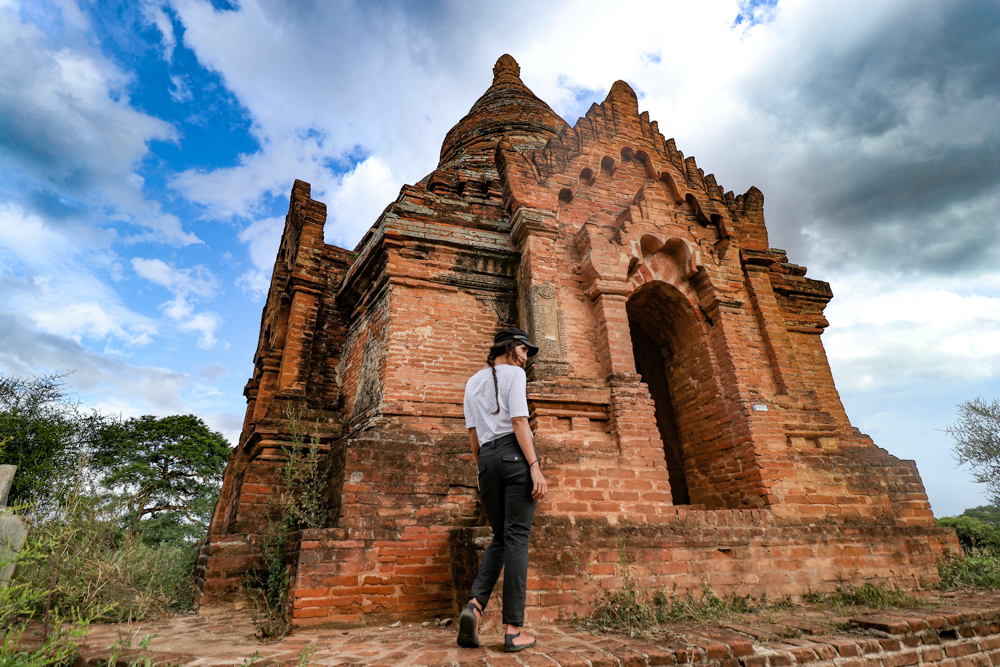 best travel outfit for those looking to visit Bagan in Myanmar