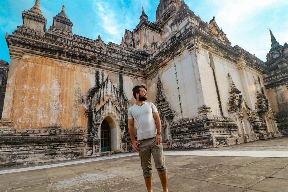 Exploring Bagan ruins in Myanmar