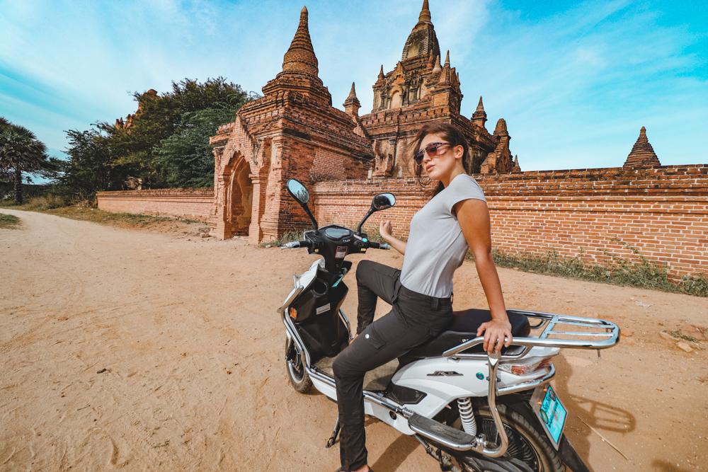 Exploring Myanmar on Motorbike