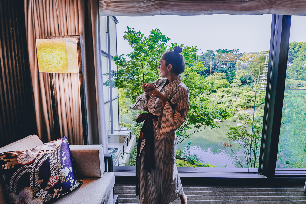 Four Seasons Kyoto Premier Room with Garden View