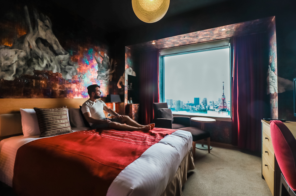 Japanese Artist Rooms at Park Hotel Tokyo