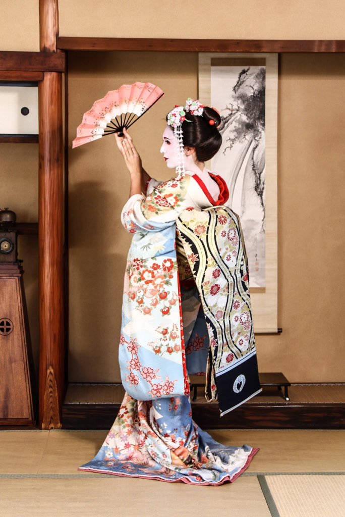 Maiko Kyoto Japanese Geisha Makeup Experience
