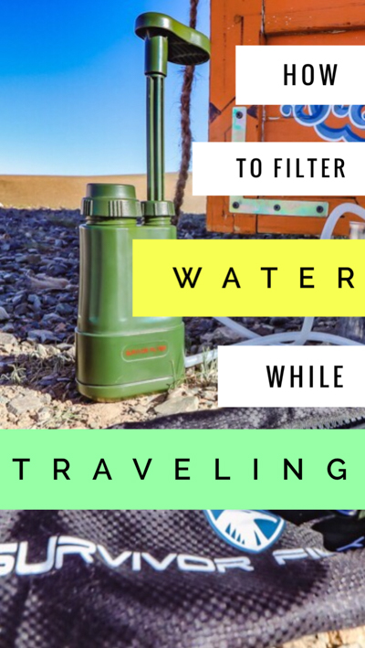 The ultimate travel tool for those looking to know how to purify water on the go, the Survivor Filter Pro makes clean water easy-to-access for all travels.