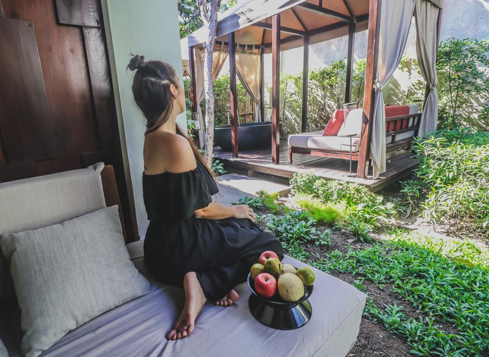 Garden suite at Sofitel Luang Prabang Laos hotel