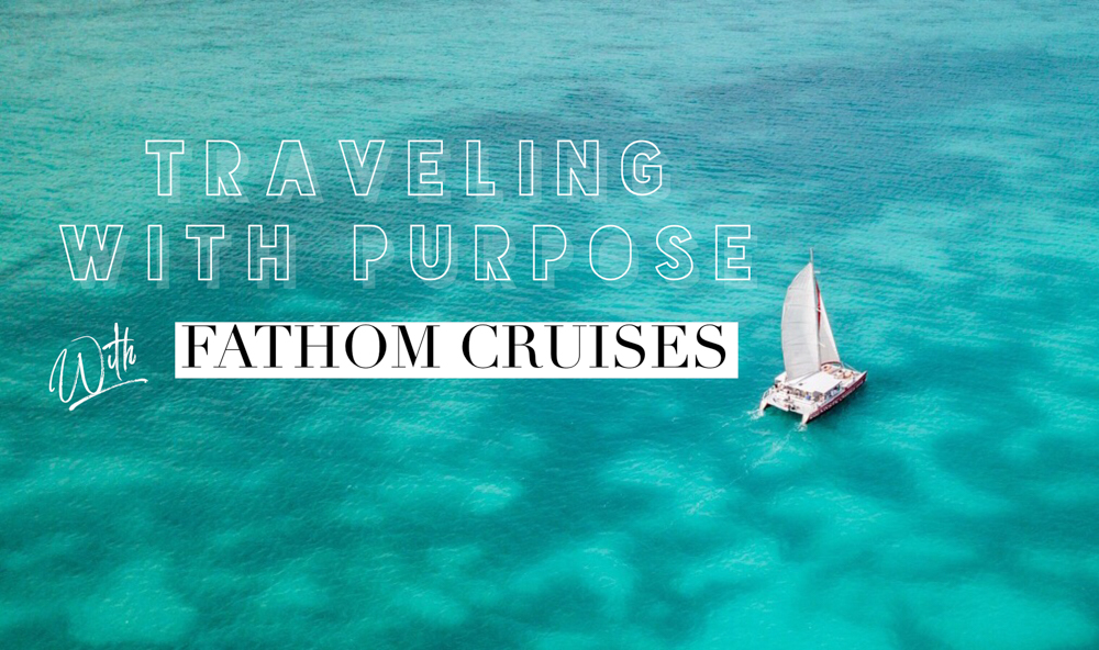 Onboard with Fathom cruises and their social impact travel initiative! We joined the Cruise for the Caribbean for meaningful travel with local communities.