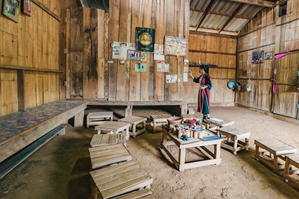 Visiting shaman on hill tribes Thailand village tour with Lisu Lodge by Asian Oasis