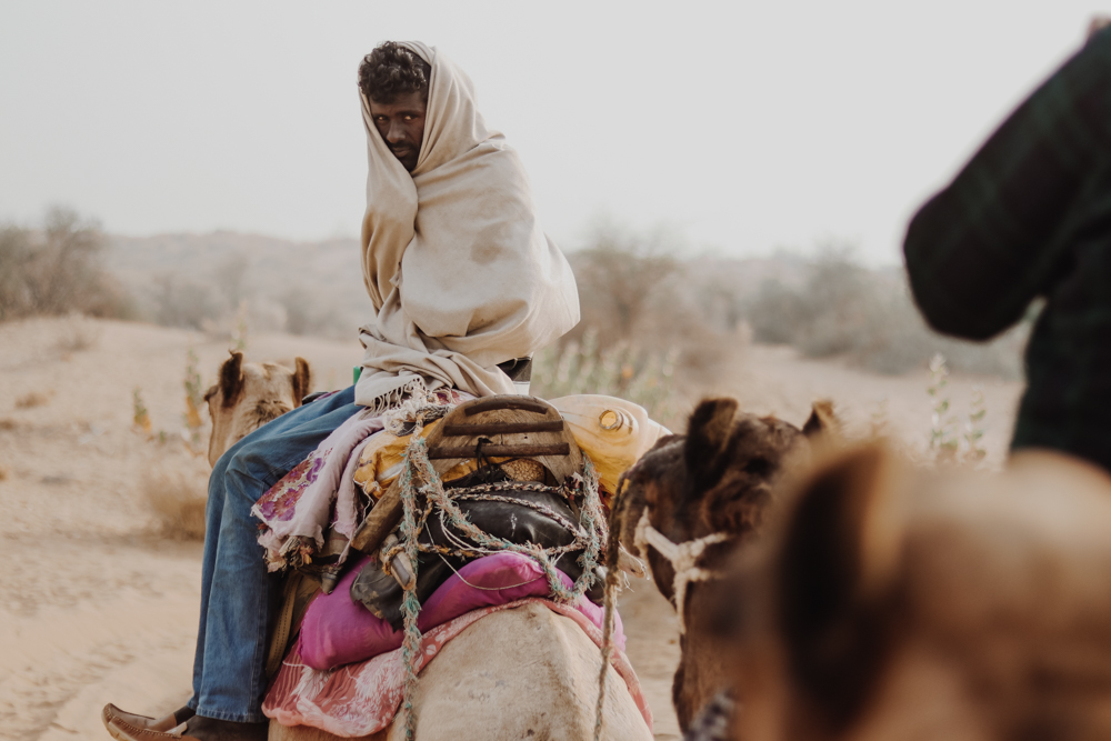 Best things to do in India camel trek