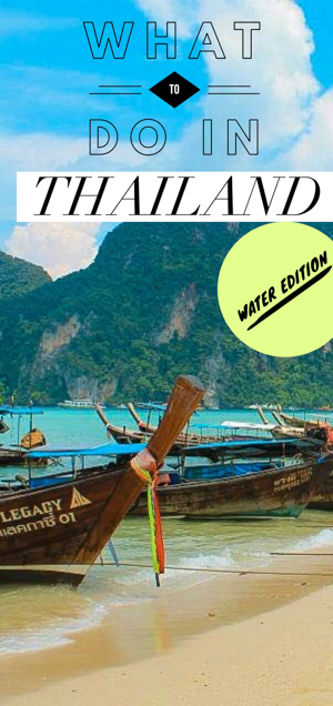 Splish splash! If you want to visit Thailand, make the most out of your idyllic island vacation in the water with these best things to do in Thailand! You won't want to embark on your Thailand holidays without checking out some of these top water sports!