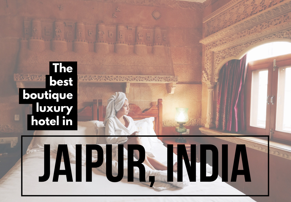 A review of one of the best boutique luxury hotels in Jaipur India, the Pearl Palace Heritage Hotel, an immersive experience of royal and timeless elegance!