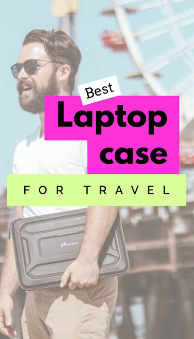 As travel bloggers always on the go, we've determined the best laptop case for travel, offering waterproof, shockproof, military-grade protection! Our laptop is one of the most important tools we rely on, so we've done a thorough job in our laptop case review to ensure the most reliable and durable laptop case for the job!