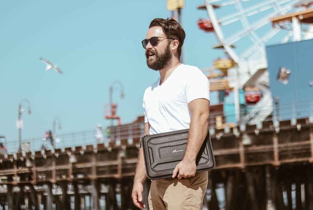 Best laptop sleeve for travel according to travel bloggers