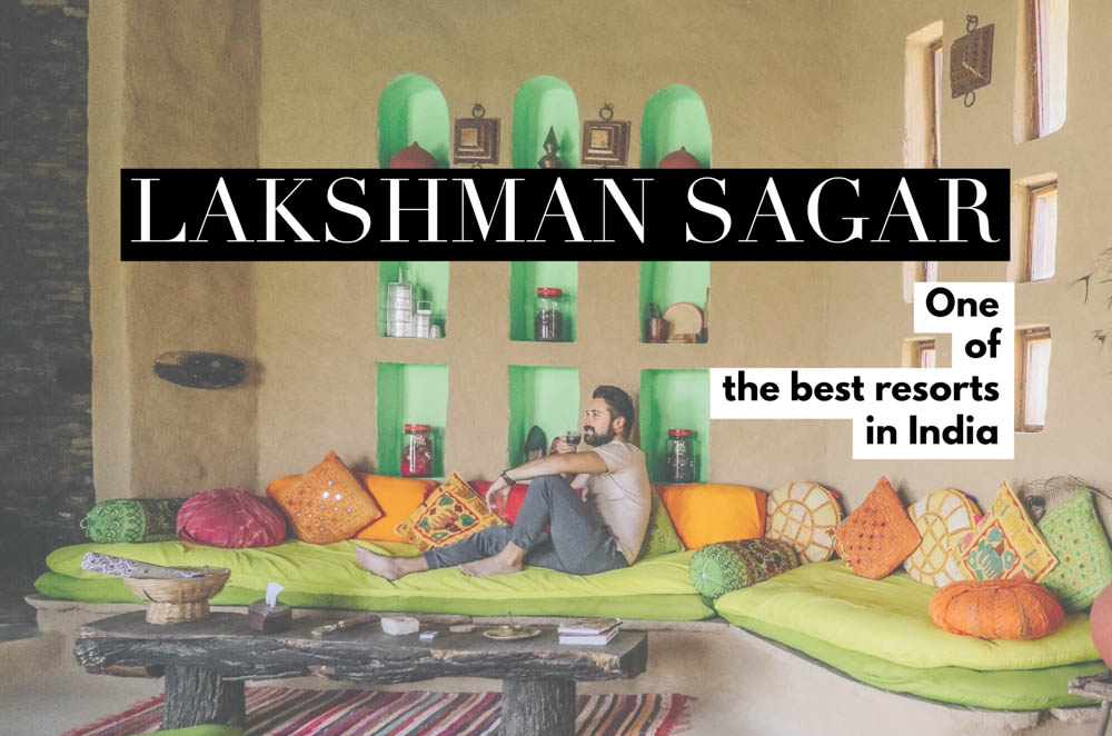 A restored 19th c. hunting lodge, Lakshman Sagar in Rajasthan offers the best of nature with luxury amenities, making it one of the best resorts in India! It was a beautiful oasis we got to escape to on our India trip, and easily one of the best things to do in India.