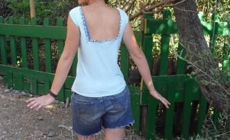 camiseta espalda