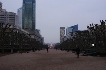 La Defense - nowoczesna dzielnica Paryża