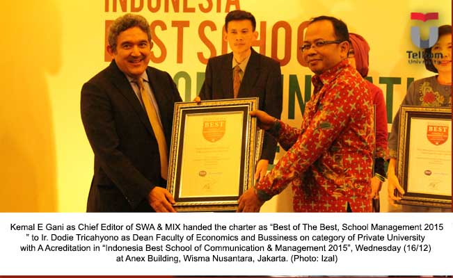 Year-end gifts, FEB Crowned as Best of the Best School of Management