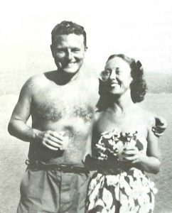 Malcolm Lowry und Margerie Lowry in Vancouver, Kanada
