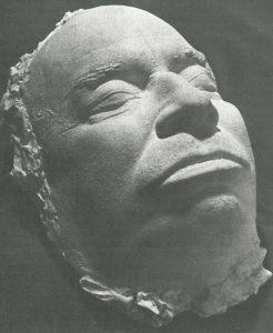 Totenmaske, Schriftsteller, Hans Henny Jahnn