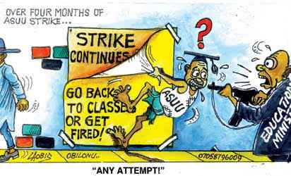 """""""We don't just strike, we can also storm"""" - ASUU Chairman"""