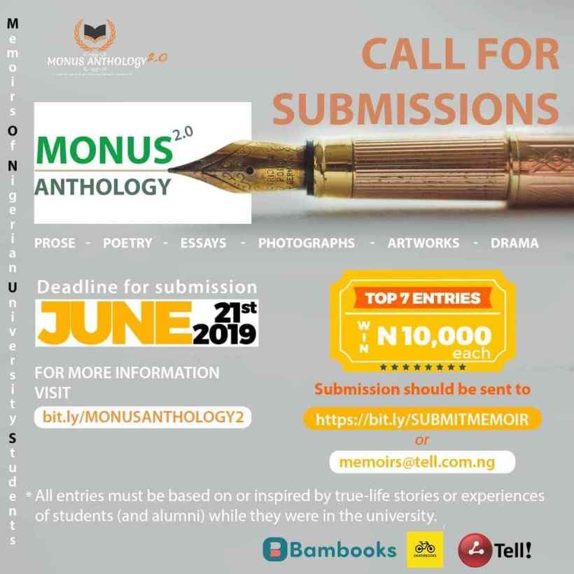 Call for Submission: MONUS2.0