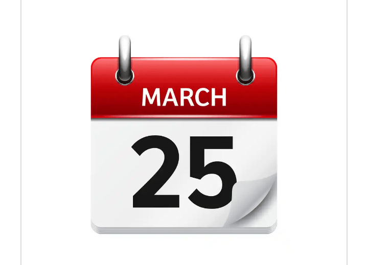 MARCH 25 - TOMORROW IN PARADISE