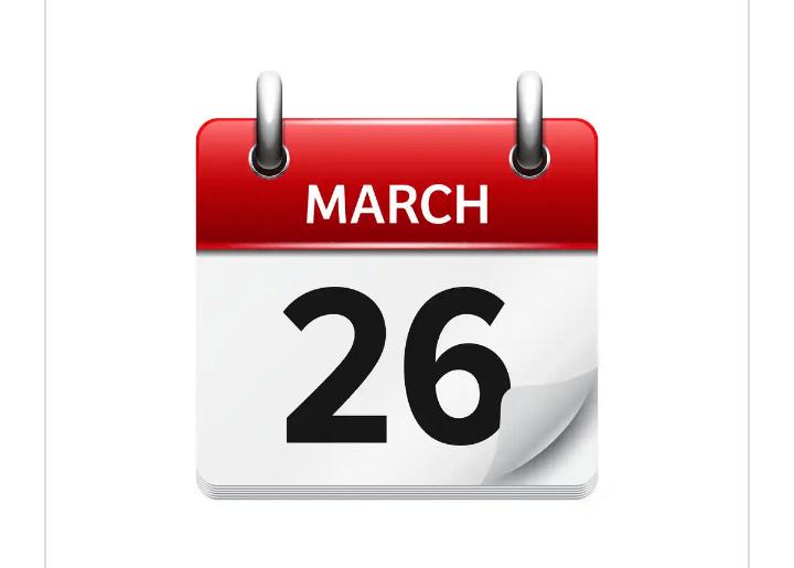 MARCH 26 - BOREDOM