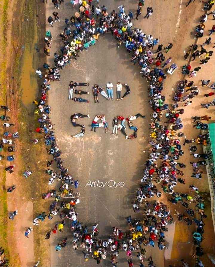 We deserve better. End SARS!