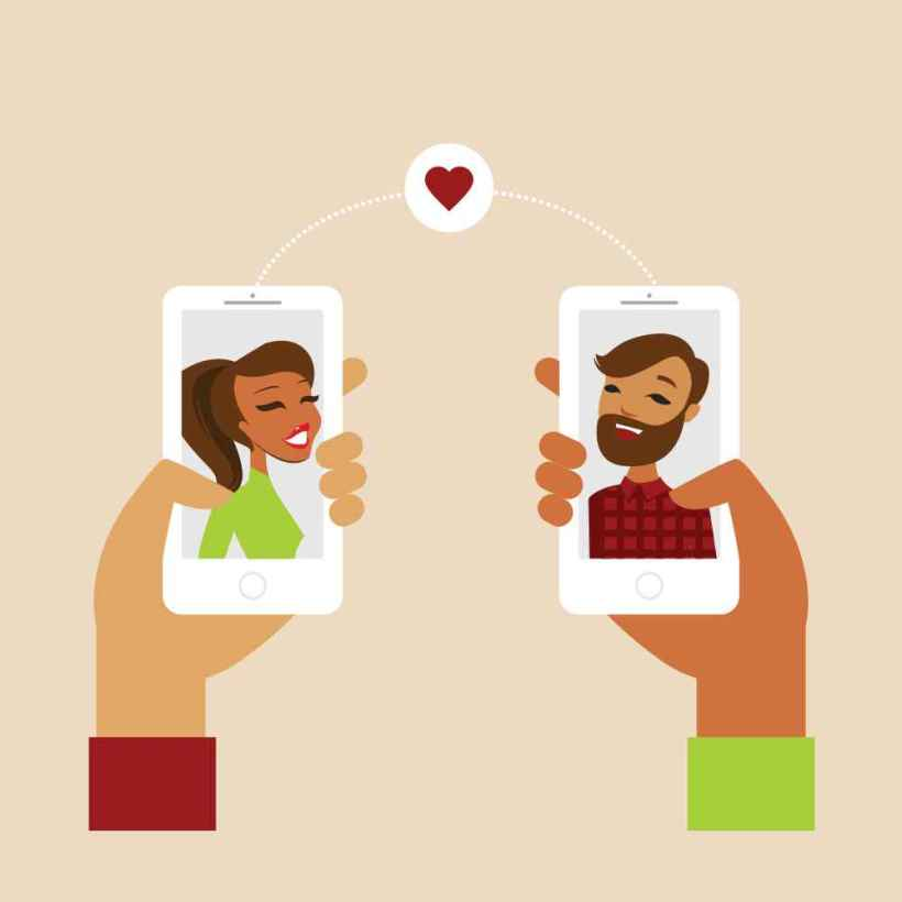 E-dating: Love at the first swipe