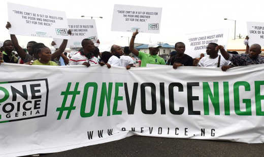 One Voice Protest