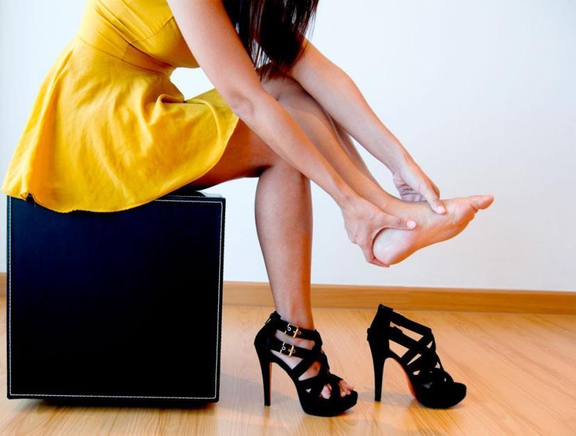 Aj, aj! Var snäll mot dina fötter. De har en tufft livsuppgift. Foto: Magazine Foxnews