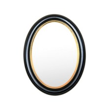 firenze-svart-oval-fotoram