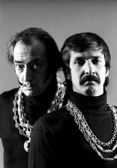Salvador Dali, med bror
