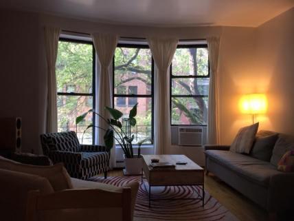 Airbnb-studion som jag hyrde. Kanon!