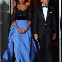 Michelle Obama, mogna kvinnor och Oscarsklänningar