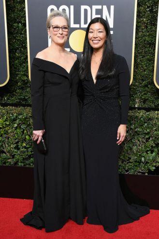 Meryl Streep och Ai Jen Poo