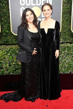 Natalie Portman och America Ferrera