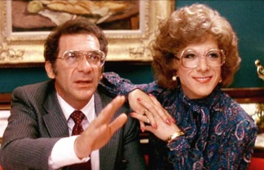 """Dustin Hoffman som """"Tootsie"""", 1982"""