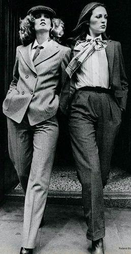 YSL kostymer,1970