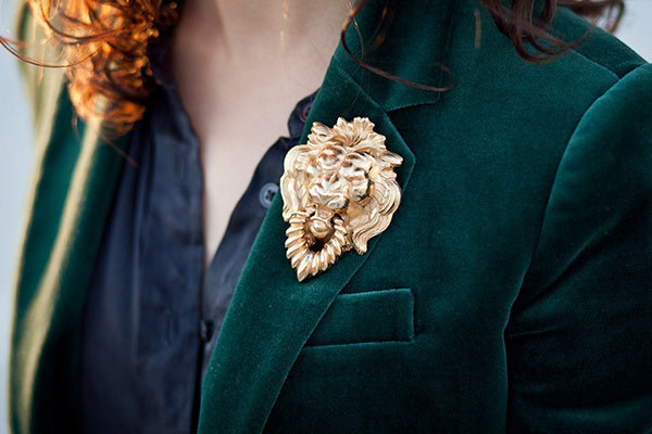 brooch-on-lapel-velvet-jacket