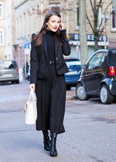 How to Style Culottes for Fall