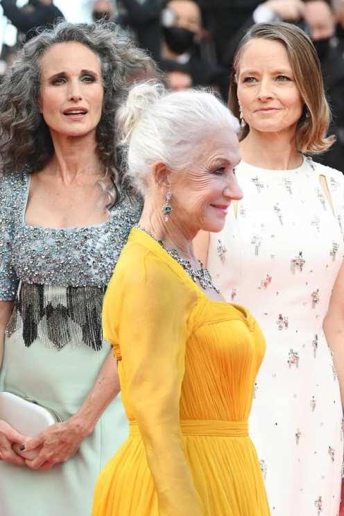 Andie MacDowell, Helen Mirren, Jodie Foster