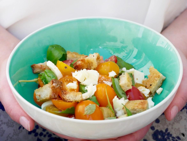 Panzanella-tomaten-brot-salat