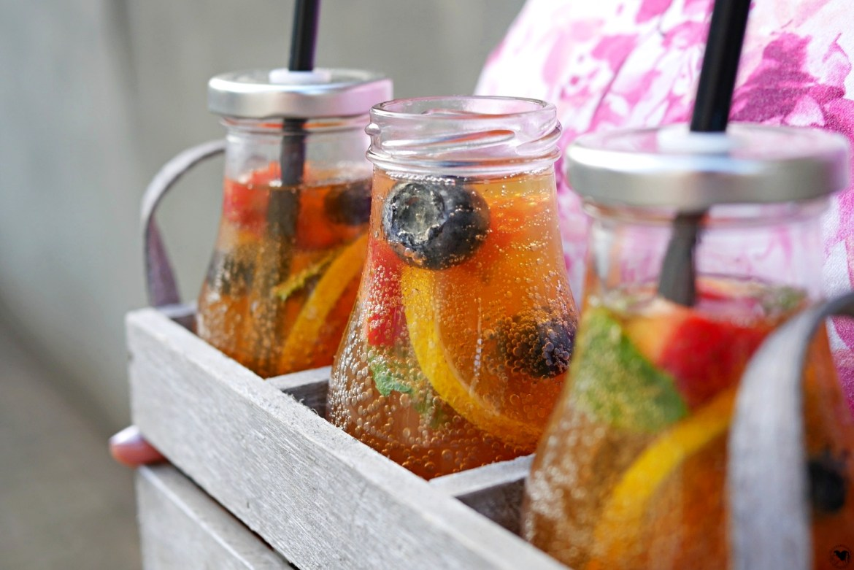 sparkling ice tea Zitrone
