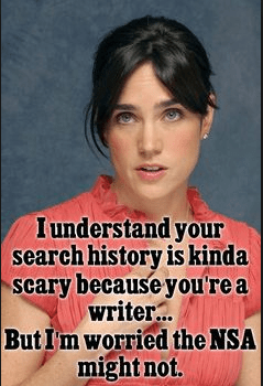 The Writer's Research | Paranoia and… Jennifer Connelly?