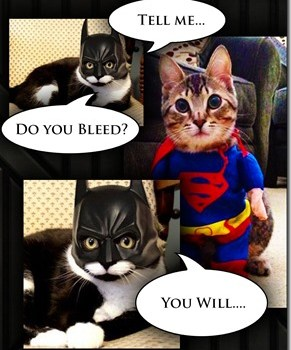 Tell me…Do you bleed?